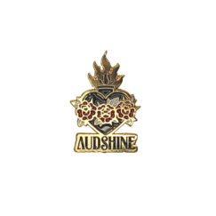 "Pin's Audshine ""Cœur rebelle"""